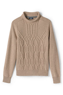 Men's Cable Fisherman Jumper