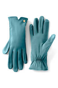 Women's Stretch Leather EZ Touch Texting Gloves