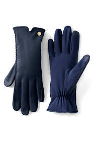 Women's Stretch Leather EZ Touch Gloves