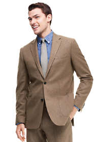 Men's Tailored Fit Wool Flannel Sportcoat