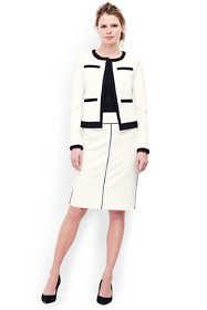 Women's Petite Ponte Pencil Skirt