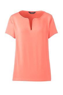 Shirt mit Tunika-Ausschnitt