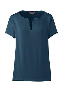 Le T-Shirt en Coton Modal Stretch, Femme