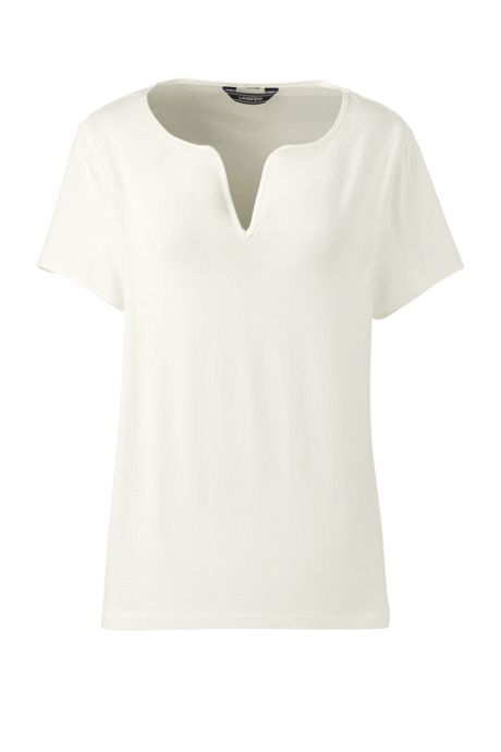 Women's Plus Size Short Sleeve LWCM Top