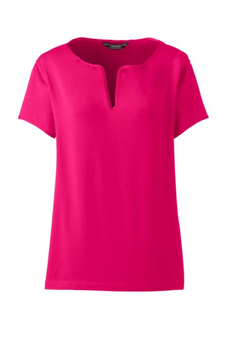 Women's Tall  Short Sleeve LWCM Top