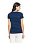 Le T-Shirt Rayé à Manches Courtes, Femme Stature Standard