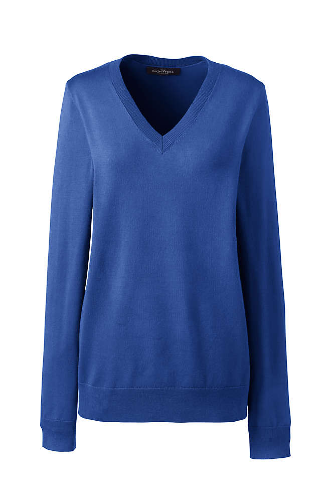 Women's Performance V-neck Sweater, Front