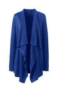Women's Petite Performance Long Drapey Cardigan