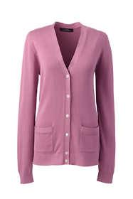 Women Plus Size Cotton Modal V-neck Cardigan Sweater