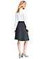 Women's Heathered Jersey A-line Skirt