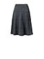 Women's Heathered Jersey A-line Skirt