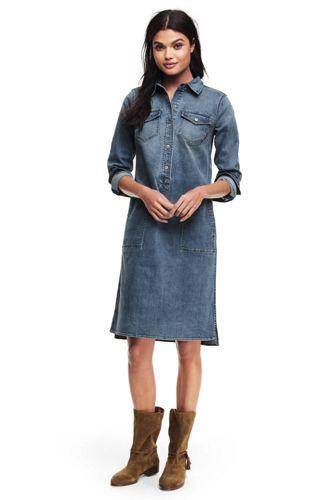 Jeanskleid für Damen in Normalgröße