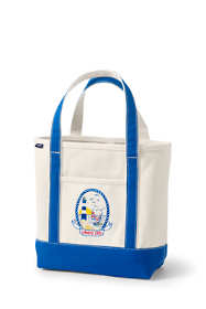 Lighthouse Embroidered Medium Open Top Tote Bag