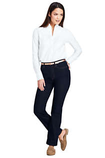 Women's High Rise Straight Leg Jeans, alternative image