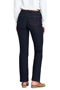 Women's High Rise Straight Leg Jeans, Back