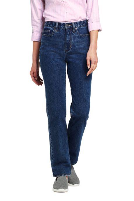 Women's Tall High Rise Straight Leg Jeans