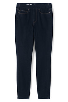 Women's Pull-on Deepest Indigo Skinny Jeans