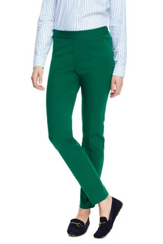 Women's Mid Rise Bi Stretch Pencil Pants by Lands' End