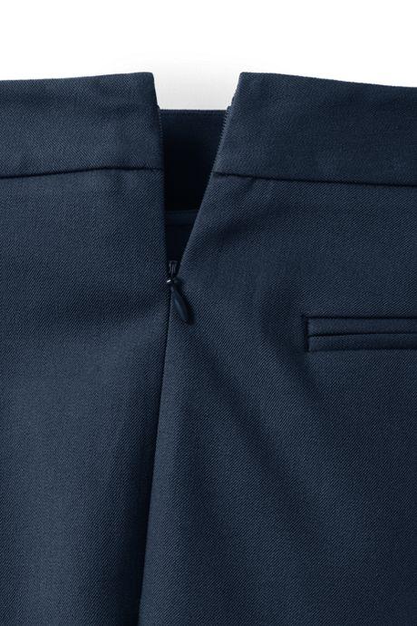 Women's Petite Mid Rise Bi-Stretch Pencil Pants