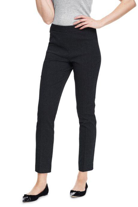 Women's Tall Mid Rise Dot Pencil Pants