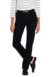 Women's Mid Rise True Straight Leg Jeans