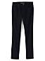 Le Jean Droit Noir Taille Mi-Haute Stretch, Femme Grande Taille
