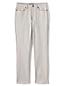 Le Jean Coloré Droit Taille Mi-Haute Stretch, Femme Stature Standard