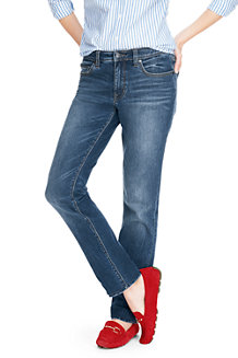Free Shipping Order Buy Cheap With Paypal Womens Not-Too-Low Rise Slim Leg Coloured Jeans - 14/16 28 - Green Lands End For Sale Footlocker Cheap Browse FThnH