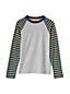 Le T-Shirt Manches Raglan Rayées, Petit Garçon
