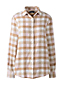 Women's Plus Brushed Flannel Shirt