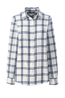Women's Flannel Shirt, Front