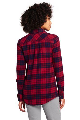 Women's Petite Flannel Shirt
