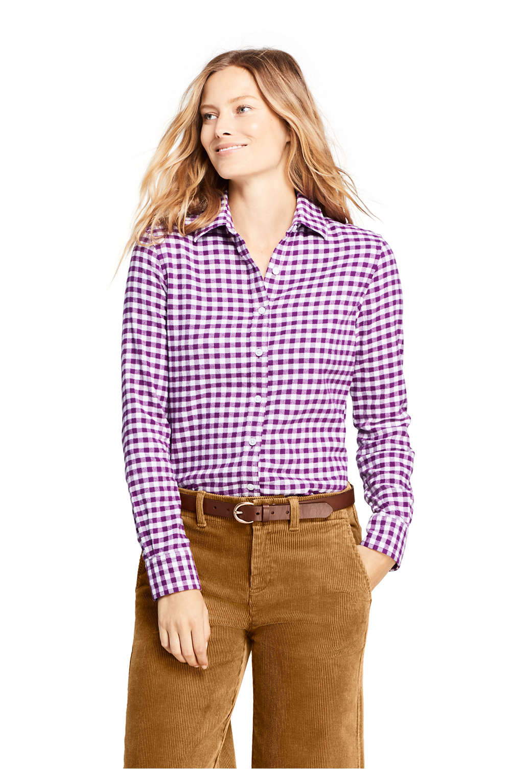 Womens Flannel Shirt From Lands End