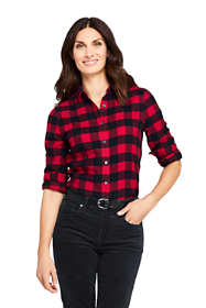 Women's Tall Flannel Shirt