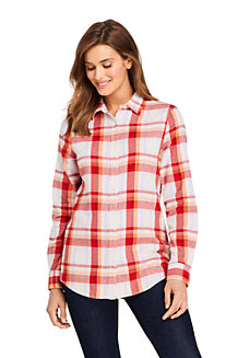 Women's Brushed Flannel Shirt