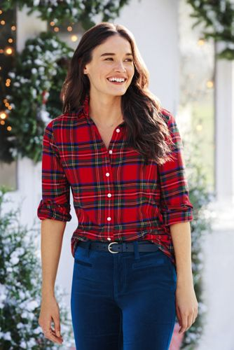 Tartan and plaid shirts for women best photo
