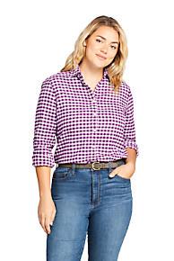 eea740ebd5c78 Women s Plus Size Flannel Shirt