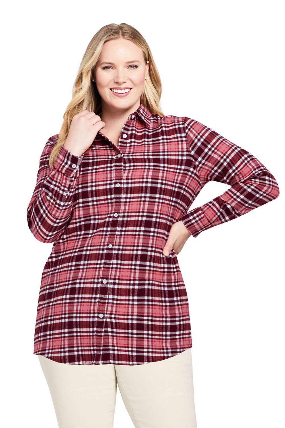 amazing quality strong packing quality Women's Plus Size Flannel Shirt