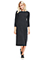 La Robe Pull Lounge Interlock Manches 3/4, Femme Stature Standard