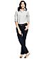 Demi-Bootcut Jeans in Indigo für Damen