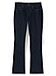 Le Jean Semi-Bootcut Indigo Taille Mi-Haute Stretch, Femme Stature Standard