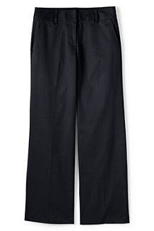 Women's Mid Rise Wide Leg Chino Trousers