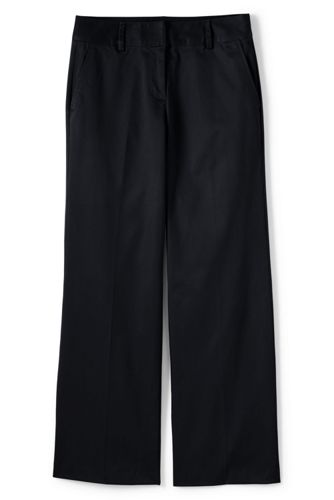 Le Chino Large Stretch Taille Mi-Haute Ourlets Sur-Mesure, Femme Stature Standard
