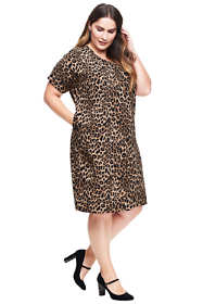 Women's Plus Size Dolman Tee Dress