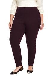 Women's Plus Size High Rise Bi-Stretch Pants