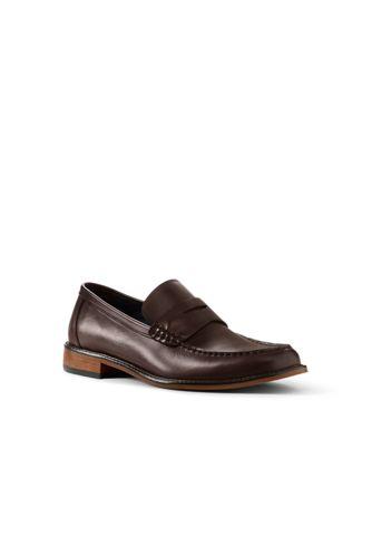 Mens Regular Everyday Slip-on Shoes - 10.5 - BLUE Lands End gUpOx7N
