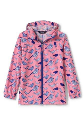 Little Girls' Patterned Packable Navigator Jacket
