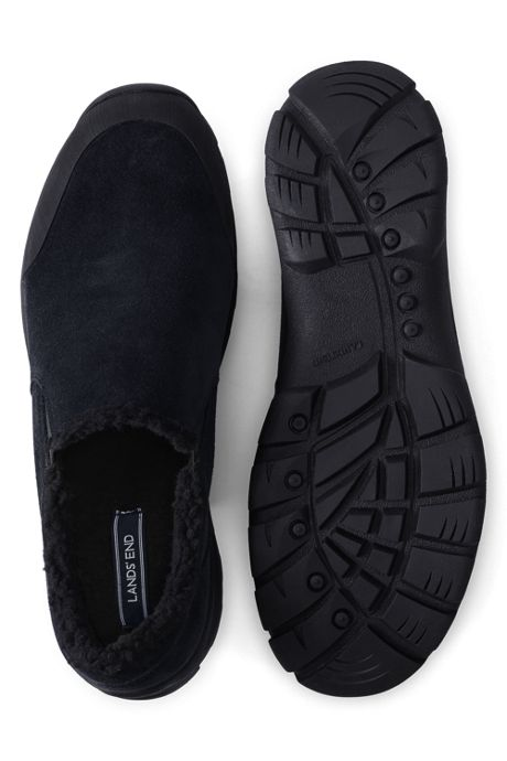 Men's Wide Sherpa Lined All Weather Mocs