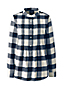 Women's Plus Pintucked Brushed Cotton Tunic