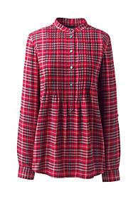 ea0294695fe95 Women s Plus Size Flannel Tunic Top
